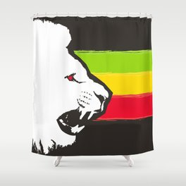 Rasta Lions (The Kingdom) Shower Curtain