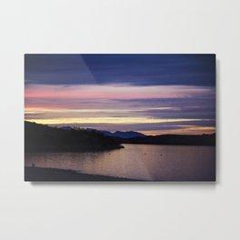 Lake Havasu Sunset Metal Print