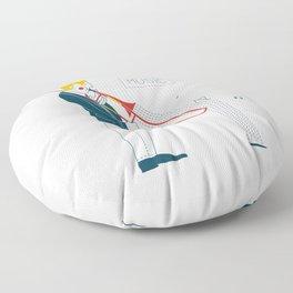 Trombonist Floor Pillow