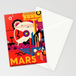 Fantasy Tour of Mars Stationery Cards