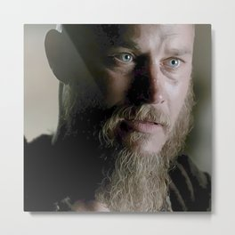 Ragnar's eyes Metal Print