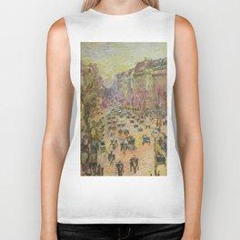Paris, Boulevard Montmartre, a copy Biker Tank