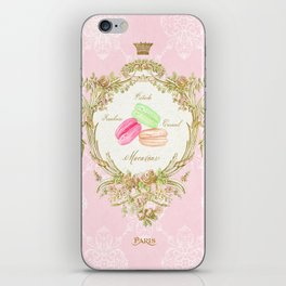 French Patisserie Macarons iPhone Skin