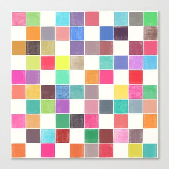 colorquilt 1 Canvas Print