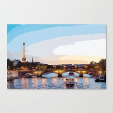 The Seine River Canvas Print