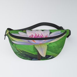 Lonely Water Lily Fanny Pack