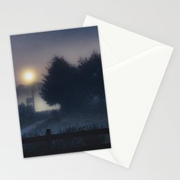 Patagonia Landscape Night Scene, Chile Stationery Cards