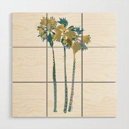 Palm Tree Breezes Wood Wall Art
