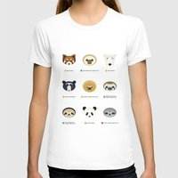sloths T-shirts featuring Endangered Bears & Sloths by Mirukuru