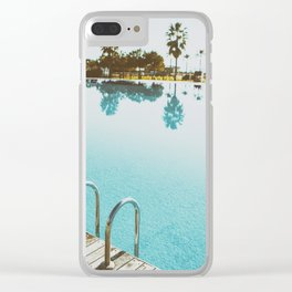 POOL Clear iPhone Case