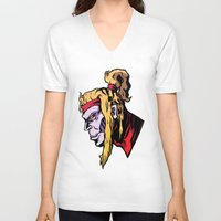 xmen V-neck T-shirts featuring x28 by jason st paul
