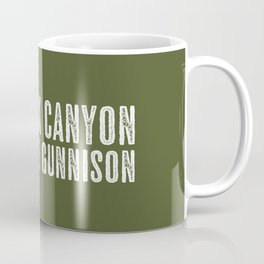 Deer: Black Canyon of the Gunnison, Colorado Coffee Mug