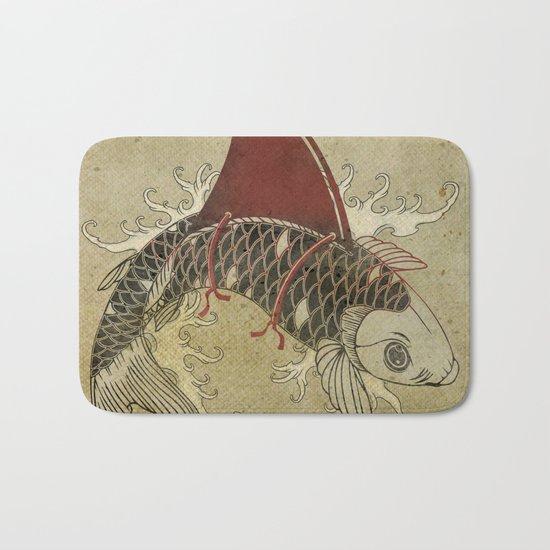 koi Shark Fin 03 Bath Mat