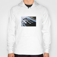 typewriter Hoodies featuring Typewriter by double U double O