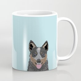 Kellan - Cattle Dog gifts for dog lovers and australian cattle dog gifts for dog person Coffee Mug