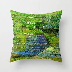 Landscape of My Heart (segment 4) Throw Pillow