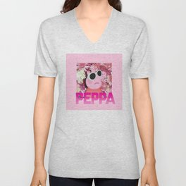 PEPPA's FIRE mixtape Unisex V-Neck