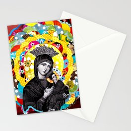 Nossa Senhora do Perpétuo Socorro (Our Lady of Perpetual Help) Stationery Cards