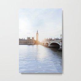 London #society6 #decor #buyart Metal Print