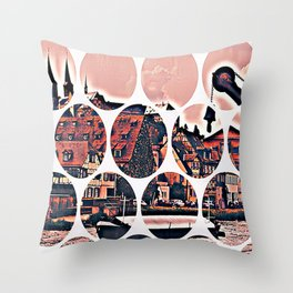 Bamberg Pattern Throw Pillow