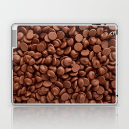 Milk chocolate chips Laptop & iPad Skin
