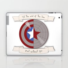 Steve Rogers and Bucky Barnes Shield Laptop & iPad Skin