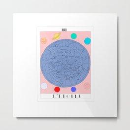 l'etoile - the star tarot card Metal Print