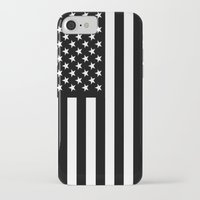 flag iPhone & iPod Cases featuring Flag by Stephanie Janeczek