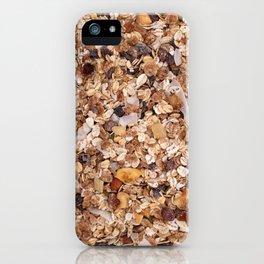 Granola iPhone Case