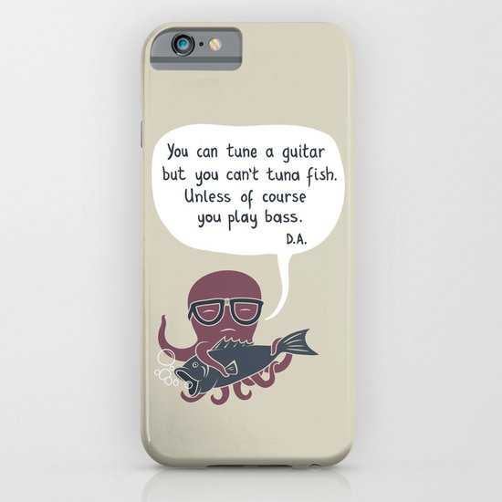You can tune a guitar... iPhone & iPod Case