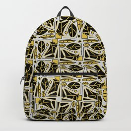 Black and golden deco Backpack