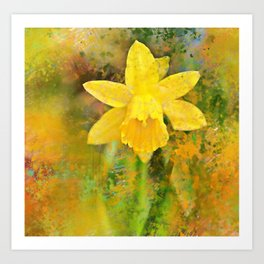 Spring into Colour Art Print