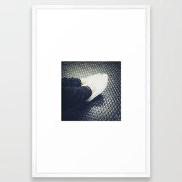 female feet #2 Framed Art Print