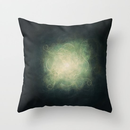 Continuance Throw Pillow