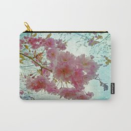 Pink Sakura Carry-All Pouch