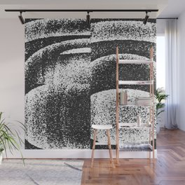 Monochrome Shades Wall Mural