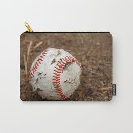 Old Baseball Carry-All Pouch