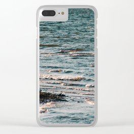 Lake Strom Thurmond Clear iPhone Case