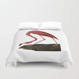 Flamingo Large Print Duvet Cover