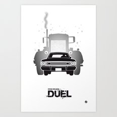 The Black Collection' Duel Art Print