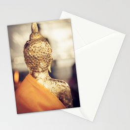 Buddha the other side Stationery Cards