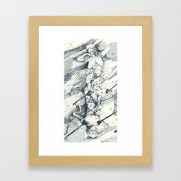 Dakimakura Framed Art Print