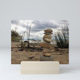 Rock Formation Mini Art Print