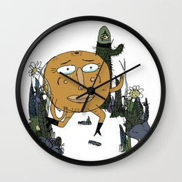 Lost On The Way Home Wall Clock