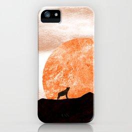 The hyenas spot iPhone Case