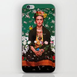 Wings to Fly Frida Kahlo iPhone Skin