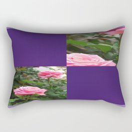 Pink Roses in Anzures 5  Blank Q9F0 Rectangular Pillow