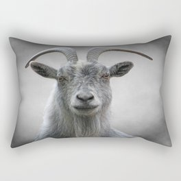 The Old Goat Rectangular Pillow