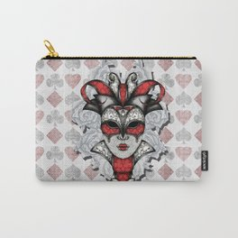 Queen of Harlequins Carry-All Pouch