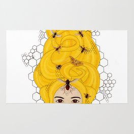 The Queen Bee Rug